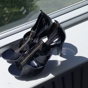 Michael Kors zip up heels